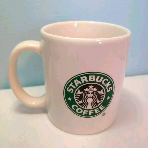 Starbucks Coffee Mug 2004 Classic Mermaid Siren 10